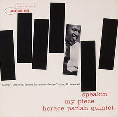 Reid Miles- Horace Parlan, Blue Note 4043