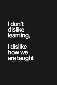 Lifelong learning my way