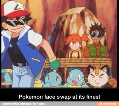 face swap pokemon - Google Search