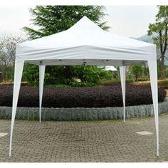 Carpa pabellon desmontable 600x300x255 cm 4 paneles for Carpas para jardin