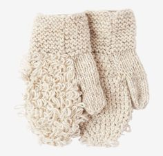 Very warm and chunky, hand knitted hemp mittens. Loop stitch on the top with garter stitch cuffs. Mitten Gloves, Mittens, Silk Bandana, Woven Scarves, Cotton Scarf, Caps For Women, Cotton Lights, Garter Stitch, Knitting Projects