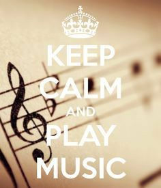 KEEP CALM and PLAY MUSIC. Another original poster design created with the Keep Calm-o-matic. Buy this design or create your own original Keep Calm design now. Sound Of Music, Music Is Life, House Music, Music Lyrics, Music Quotes, Piano Quotes, Quotes Quotes, Pub Radio, Message Vocal