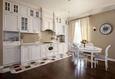 Дизайн, декор интерьера красивой кухни в стиле Прованс на фото ...