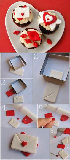 trang tri cupcake bang fondant