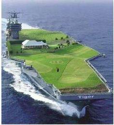 Tiger's Yacht