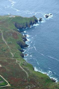 Land's End - two of our guests took a scenic flight whilst staying at Ednovean farm and took these awesome photos