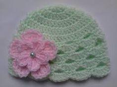 Resultado de imagen para gorrito bebe recien nacido crochet