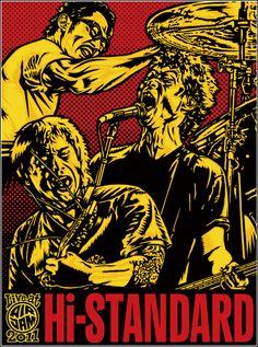 Image result for japanese punk rock art