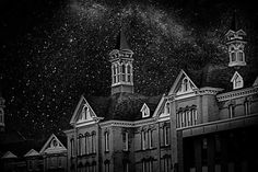Shared by loosecanonphotography #astrophotography #contratahotel (o) http://ift.tt/1TJVWAm image. The Traverse City State Hospital and the milky way. #composite#photographer #PureMichigan #michigan #canonrebelt3i #naturelovers #traversecitystatehospital#traversecity #urbex #urban#stars#starry #starrynight  #astro#kirkbridebuildings#asylum #photoshop #digital#learning#newthings#art#insta #instagood #instadaily #travel #travelgram#star#kcad #artschool