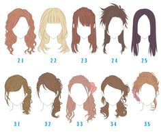 Hairdressing Advice That Will Keep Your Hair Looking Great. Are you affected by constant bad hair days? Do you feel as if you have tried everything possible to get manageable hair? Do not stress about your hair, rea Manga Hair, Anime Hair, Woman Drawing, Manga Drawing, Drawing Tips, Drawing Women, Drawing Hair Tutorial, Pelo Anime, Hair Sketch