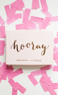 This subscription box might be our favorite yet! http://www.stylemepretty.com/living/2015/09/22/subscription-boxes-for-every-aspect-of-your-life/