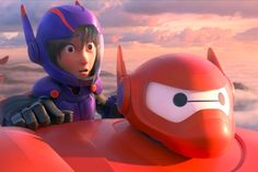 Big Hero 6 Is The Most Underrated New Disney Animation -- Among Disney's selection of modern animated movies, Big Hero 6 is criminally underrated. Marvel fans may occasionally bemoan Disney's influence on - Film Disney, Disney Animated Movies, Disney Pop, First Animation, Walt Disney Animation Studios, Animation Film, Best Superhero Movies, Marvel Movies, Flynn Rider