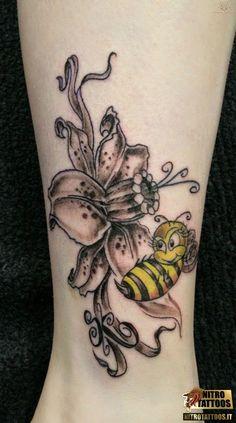 significato di ape #tatuaggi #tatuaggio #tattoos #tattoo #nitrotattoos