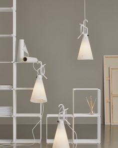 May Day May Day: a new arrival is here! : Limited edition May Day in White Konstantin Grcic. #FLOS #architecture #design #lighting #mayday #madeinitaly by flos_usa