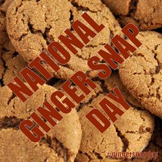 Nap Day, July 1, Ginger Snaps, Gingerbread Cookies, Special Day, Desserts, Food, Gingerbread Cupcakes, Ginger Cookies