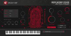 VSTi / AU plug-in retro futuristic instrument with vintage sci-fi analog sounds Retro Futuristic, Electronic Music, Plugs, Instruments, Digital, Vintage, Corks, Vintage Comics, Musical Instruments