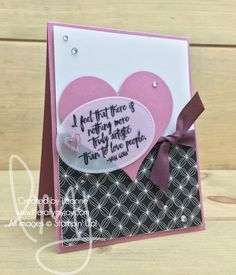 Truly Artistic | Stampin\' Up! | Just Add Text #literallymyjoy #VanGogh #lovepeople #love #hearts #artistic #SweetSugarplum #FreshFig #PickAPatternDSP #20172018AnnualCatalog