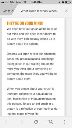 When you dream with someone