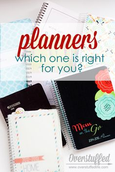 What to look for when choosing a paper planner system. Plus reviews on several of the most popular planners on the market. Erin Condren, Franklin Covey, Mom on the Go, The Home Executive, Mormon Mom #overstuffedlife