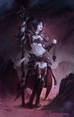 Diablo III - Female Wizard