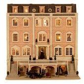 Featherstone Hall Hotel    Rick Maccione-Dollhouse Builder www.dollhousemansions.com