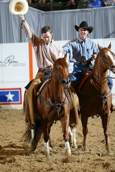 Chiquita Pistol carried Tag Rice to the NCHA Triple Crown by winning the 2002 NCHA Open Futurity and the 2003 NCHA Super Stakes and Summer Spectacular