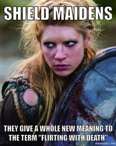 Dig into hundreds of articles about Norse mythology, Nordic culture, and Vikings Viking Shield Maiden, Viking Warrior, Warrior Women, Vikings Show, Vikings Tv Series, Wicca, Saga, Thor, Norse Pagan