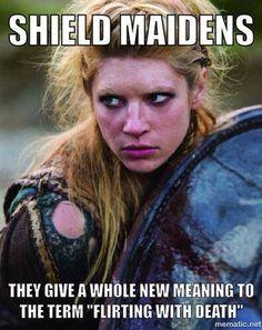 Dig into hundreds of articles about Norse mythology, Nordic culture, and Vikings Viking Warrior, Viking Shield Maiden, Viking Life, Warrior Women, Vikings Show, Vikings Tv Series, Saga, Thor, Norse Pagan