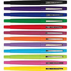 Paper Mate Flair pens in fun colors!