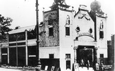 East Finchley Picturedrome, 52 High Road, c1912, now known as The Phoenix Cinema.