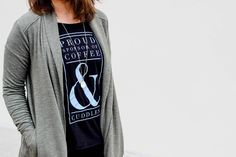 DovetailVintage graphic tee, Lou and Grey jacket, Lou and grey leggings, booties, casual style, athleisure, lounge, perfect outfit
