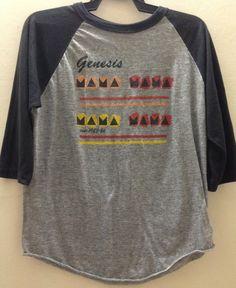 Rare Vintage Genesis 1983 Concert Tour T-Shirt by VINTAGESHIRT