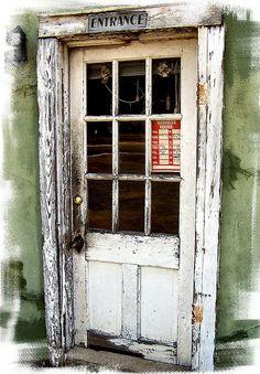 old doorway.