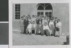 A. R. Holton with South Korean Preachers, Seoul, South Korea, ca.1958-1962 :: International Mission Photography Archive, ca.1860-ca.1960
