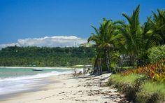 Praia de Araçaípe, em Arraial D'Ajuda, Porto Seguro (BA)