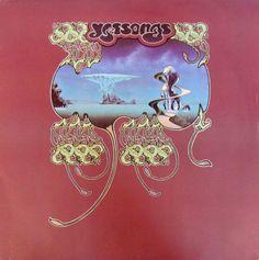 vinyl-artwork:  Yes - Yessongs 1973.  Cover art by Roger Dean.