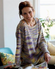Strik og spar: Meleret bluse - Hendes Verden