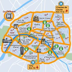 Paris, France - Travel Guide and Travel Info ~ Tourist Destinations