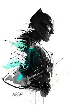 Batman vs Superman on Behance Batman Drawing, Batman Artwork, Batman Wallpaper, Hd Wallpaper, Batman Painting, Dc Comics Art, Marvel Dc Comics, Illustration Batman, Simple Illustration