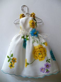 Hankie Couture #3 by beebers31, via Flickr