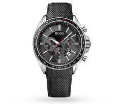 1693e871c74f Hugo Boss 1513087 Chronograph Black Kevlar Strap Driver Watch One Size  Assorted-Pre-Pack. Top Watches