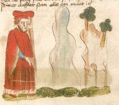 Weltchronik. Sibyllenweissagung. Antichrist  BSB Cgm 426, Bayern,  3. Viertel 15. Jh  Folio 161