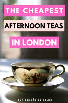 It would be a shame to visit London and not attend an afternoon tea but you don't need to break the bank to do so! Here is a list to the cheapest and most afforable afternoon teas in London #afternoontea #london #budgettravel | London Trave Tips | Budget London | London Guide | Best Afternoon Teas in London | Cheap London Afternoon Tea | England Travel Travel Through Europe, Europe Travel Guide, Budget Travel, Travel Around The World, Travel Guides, Travel Destinations, Ireland Holidays, Visit England, California Food