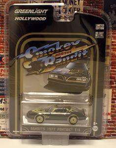 1:64 GREENLIGHT HOLLYWOOD GREATEST HITS * BANDIT'S 1977 PONTIAC T/A * Smokey & T #GreenLight #Pontiac