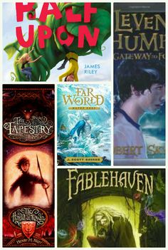 Ok I don't care how old you are, just please everyone read half upon a time. (Oh and fablehaven those are good)