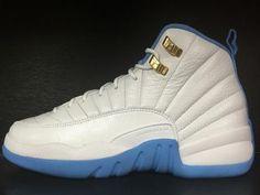 7933bae151a Air Jordan 12 Retro University Blue Melo GS All Blue Jordans, Nike Air  Jordans,
