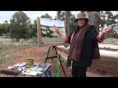 How to Paint Watercolour Landscapes with Amanda Hyatt - YouTube