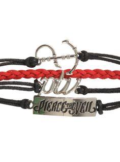 Pierce The Veil Logo Bracelet