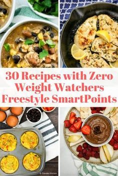 Thirty Zero Point Weight Watchers Recipes that are delicious, easy to make, and have zero points with the new Freestyle SmartPoints program. Find 0 point recipes for breakfast, lunch, dinner, snacks, and desserts. | Weight Watchers | Freestyle Program | Meal Plan | #healthyrecipes #slenderkitchen #weightwatchers #freestyleplan #wwfreestyle #zeropoints