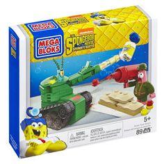 Today Only! Mega Bloks SpongeBob Pickle Tank Attack Building Set - $4.59! (reg. $11.99)